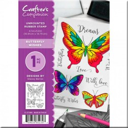 Sellos Butterfly Wishes Crafter's Companion (A6)