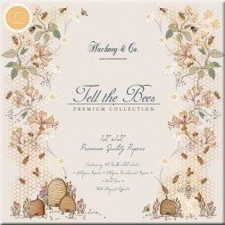 Papeles Scrapbooking Tell the Bees (30x30)