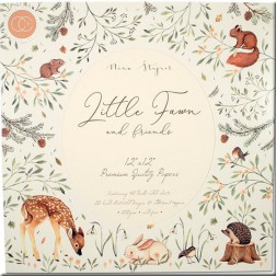 Papeles Scrapbooking Little Fawn and Friends (30x30)