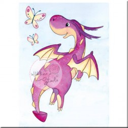 Sello Dragon Flying