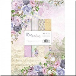 Papeles Scrapbooking Blues & Lilacs (A3)