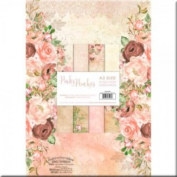 Papeles Scrapbooking Pinks & Peaches (A3)