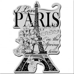 Sello I Love Paris Stampendous