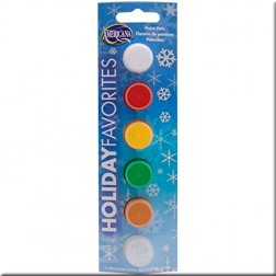 Pack 6 Pinturas Acrílicas Holiday Favorites