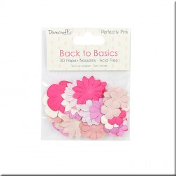 Flores de Papel Back To Basics Perfectly Pink