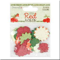Flores de Papel Little Red Robin