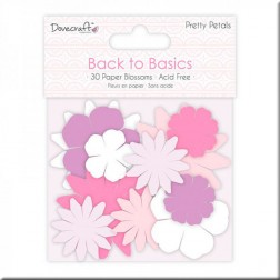 Flores de Papel Back to Basics Pretty Petals