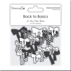 Lazos de Raso - Back to Basic Monochrome