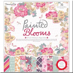 Papeles Scrapbooking Painted Blooms (30x30)
