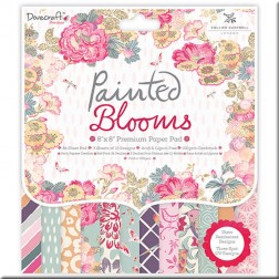 Papeles Scrapbooking Painted Blooms (20x20)