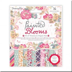 Papeles Scrapbooking Painted Blooms (15x15)