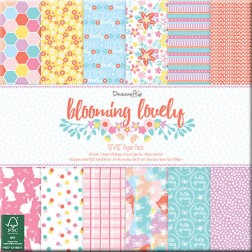 Papeles Scrapbooking Blooming Lovely (30x30)
