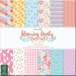 Papeles Scrapbooking Blooming Lovely (20x20)
