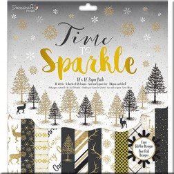 Papeles Scrapbooking Time to Sparkle (30x30)