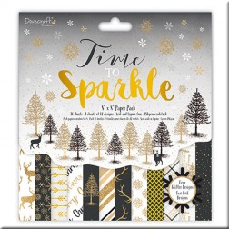 Papeles Scrapbooking Time to Sparkle (20X20)
