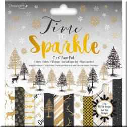 Papeles Scrapbooking Time to Sparkle (15x15)