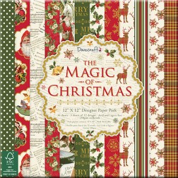 Papeles Scrapbooking The Magic of Christmas (30x30)