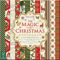 Papeles Scrapbooking The Magic of Christmas (20x20)