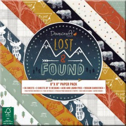 Papeles Scrapbooking Lost & Found (20x20)