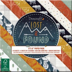 Papeles Scrapbooking Lost & Found (15x15)