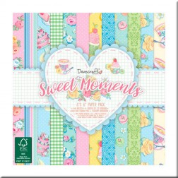 Papeles Scrapbooking Sweet Moments (15x15)