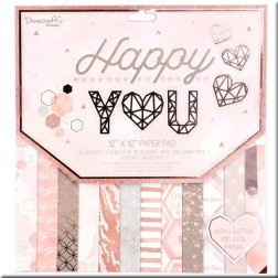 Papeles Scrapbooking Happy You (30x30)