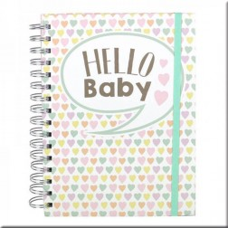 Dovecraft Baby Planner Hello baby A5