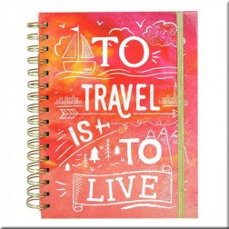 Dovecraft Travel Planner To travel is to life A5