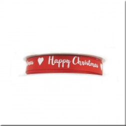 Cinta de Raso Happy Christmas Modern Dovecraft