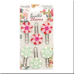 Clips de Flores Painted Blooms