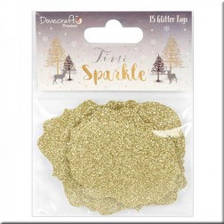 Etiquetas Glitter Time to Sparkle