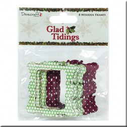 Marcos de Madera Decorados - Glad  Tidings