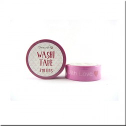 Washi Tape Rosa With Love