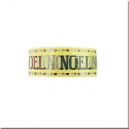 Washi Tape Amarillo Noel