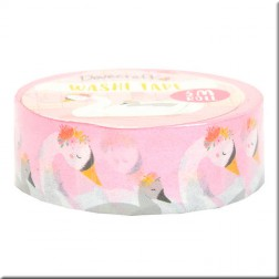 Washi Tape Cisnes Amazing Mum