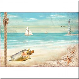 Papel de Arroz Sea Land Stamperia (48x33)