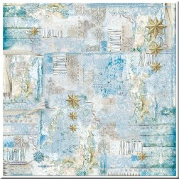 Papel de Arroz Blue Stars Little Stars Stamperia (50x50)