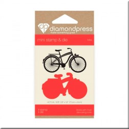 Set Troquel y Sello Bike Diamond Press