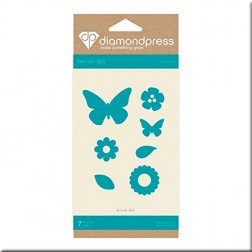 Troqueles Butterflies Diamond Press