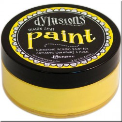 Dylusions Paint Lemon Zest