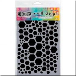 Plantilla Estarcido Honeycomb Small Dylusions (13 x 20 cm)
