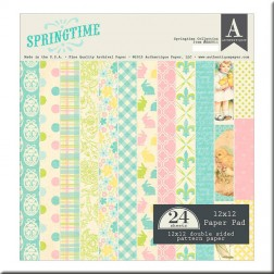 Papeles Scrapbooking Authentique Springtime (30x30)