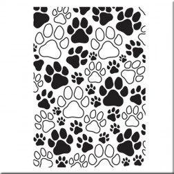 Carpeta de Embossing Paw Prints