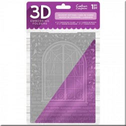 Carpeta Embossing 3D Country Cottage