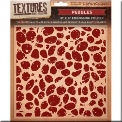 Carpeta Embossing - Pebbles