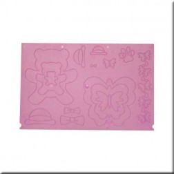 Embossing Board - Osos y Mariposas