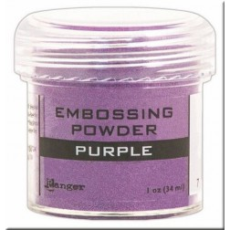 Polvo Embossing - Purple