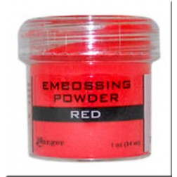 Polvo Embossing - Red