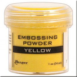 Polvo Embossing - Yellow