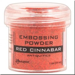 Polvo Embossing - Red Cinnabar